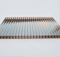 Komůrkové polykarbonátové desky tl.10mm - frost